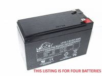 4x LP12-7.0S - Bulk Bait Boat Batteries